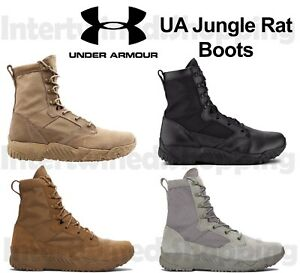 Under Armour 1264770 Men's UA Jungle Rat Boots DRW Leather & 900D 8