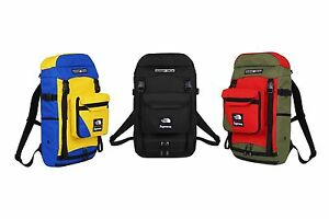 SS2016 SUPREME X NORTH FACE STEEP TECH BACKPACK - NEW