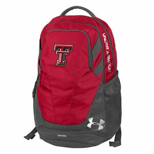 Texas Tech Red Raiders Under Armour Hustle 3.0 Performance Backpack - NCAA