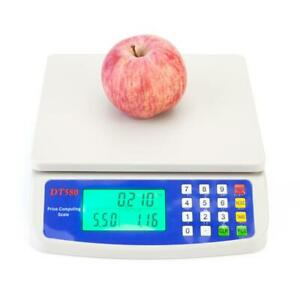 Electronic Digital Weight 66LB 30kg *1g Price Computing Food Meat Kitchen Scale $21.99