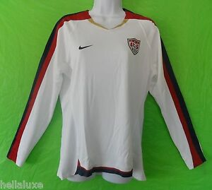 Nike~USA UNITED STATES Football Soccer shirt AUTHENTIC US Jersey Top~Womens Sz L