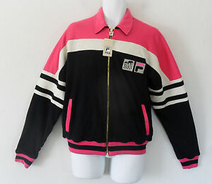 LIMITED ED~Fila BROOKLYN CIRCUS VANTAGGIO REVERSIBLE Sweat Shirt JACKET~Men sz M
