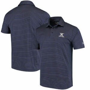 Xavier Musketeers Under Armour Playoff Stripe Polos
