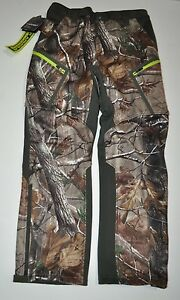 UNDER ARMOUR MEN'S SIZE 32 UA COLDGEAR INFRARED SPEED FREEK CAMO HUNT PANTS NWT