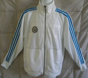 RARE~Adidas MUHAMMAD ALI Track sweat shirt Top Jacket superstar~Mens sz Med