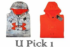 Under Armour Hoodie Jacket Sports Coat Pull Over Mens Active Sportswear Training