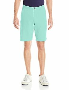 Under Armour Mens Match Play Vented Shorts MintAcademy 34 Breathable Mesh Body