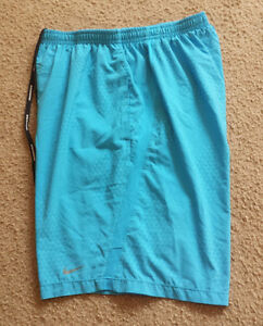 MENS NIKE DRI FIT RUNNING  FITNESS SHORTS   SZ M   ** EXCELLENT **