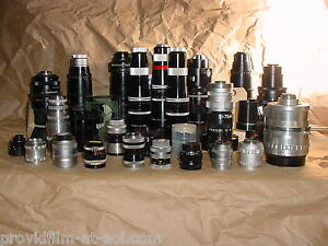 Lens lot CINE C MOUNT for Bolex Digi Black Magic ADAPT2 MFT NEX N1 MAKE OFFER