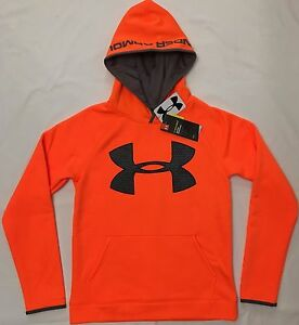 NWT youth Boys' STORM 1 YLG large UNDER ARMOUR sweatshirt hoodie COLDGEAR UA