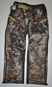 UNDER ARMOUR MEN'S SIZE 34 UA COLDGEAR INFRARED SPEED FREEK CAMO HUNT PANTS NWT
