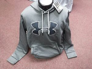 New Men's Under Armour STORM Charcoal Loose Fit Hoodie Size XL
