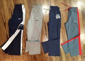 Lot Of 4 Youth Athletic pants Nike Thermafit Thermfit Dry Fit