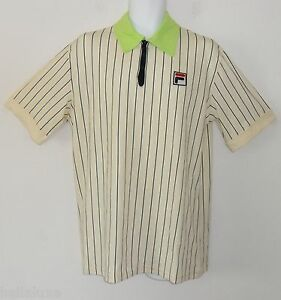 ~LIMITED EDITION~Fila TERRA ROSA POLO Tennis Björn BORG Collection Shirt~Mens XL