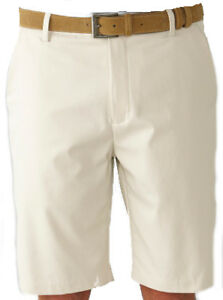 Ashworth Stretch Flat Front Short Light Khaki 34