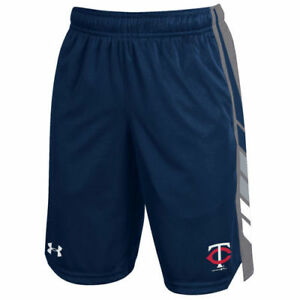 Minnesota Twins Under Armour Youth Select Shorts - Navy - MLB