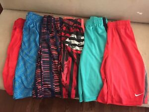 Nike Shorts Dri-Fit Boys Size Large Lot of 6 Excellent!!! Back To School