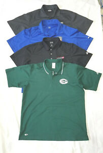 NIke Adidas Dry Fit Polo Short Sleeve Shirt L Large Active Wear Casual Lot of 4