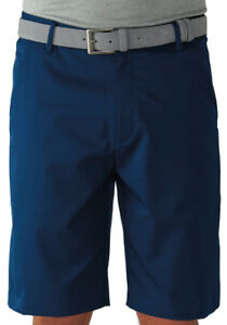 Ashworth Stretch Flat Front Short Navy 34