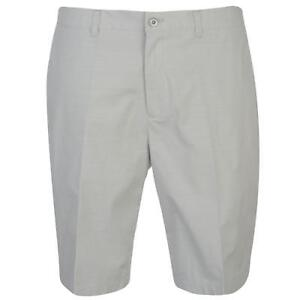 Ashworth Mens Golf Shorts Pants Trousers Bottoms Zip Checked