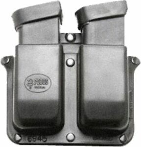 Fobus Double Mag Belt Mount Pouch 10mm45acp For Glock & Para Ord. 6945GNDBH