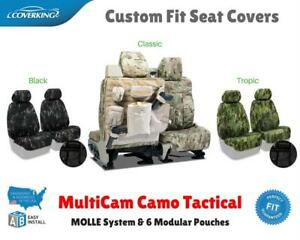 MULTICAM CAMO TACTICAL CUSTOM FIT SEAT COVERS for CHEVY CK TRUCK