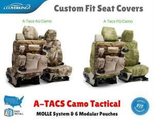 A-TACS CAMO TACTICAL CUSTOM FIT SEAT COVERS for GMC CK TRUCK