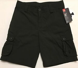 NWT youth Boys' YSM small UNDER ARMOUR athletic shorts GOLF CARGO UA heatgear