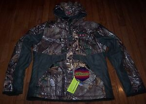 Under Armour CAMO Gunpowder Jacket CGI Scent Control STORM Women's Lg  NWT $280