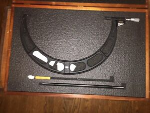 STARRETT DIGITAL OUTSIDE MICROMETER NO. 733 18quot; 19quot; $779.99