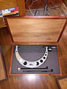 Mitutoyo 14 15quot; INSIDE MICROMETER WITH STARRETT DIGITAL NO. 293 774 $574.99