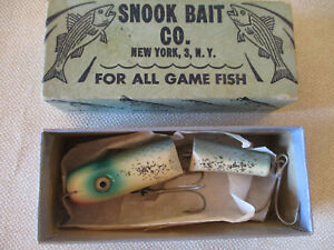 New in Correct Box Snook Bait Co. Lure