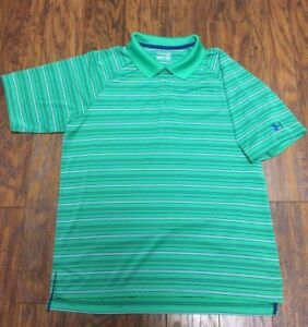 Under Armour Heatgear Loose Fit Dri Dry Fit Sweat Wicking Golf Polo Shirt Large