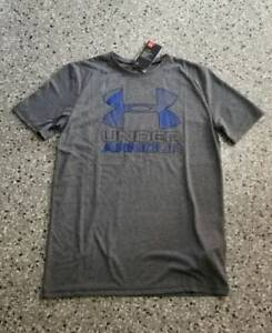 New Under Armour Anti Odor Youth Boys Golf  Polo Shirt T-Shirt Large