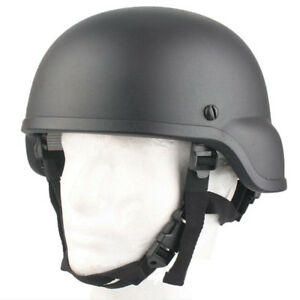 Emerson Tactical MICH ACH 2000 Helmet Black for Airsoft Paintball Hunting CS
