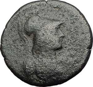 THYATEIRA in LYDIA Original 2 3CenAD Authentic Ancient Greek Coin ATHENA i64253 $67.50