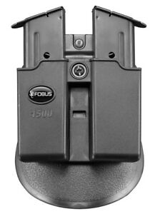 Fobus Double Magazine Mag Pouch for Single Stack 1911 .45 cal mags - 4500