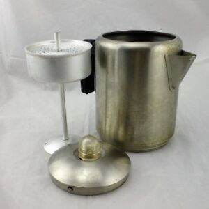 Vintage COPCO 8 Cup Stove Top Camping Coffee Pot Percolator Perk Glamping