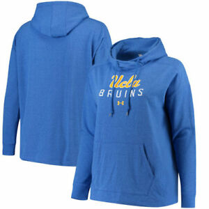 UCLA Bruins Under Armour Women's Sport Style Tri-Blend Pullover Hoodie - Royal
