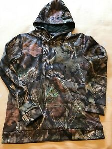 Boys Youth UNDER ARMOUR Camo Realtree Hoodie Hooded Sweatshirt sz L Large New
