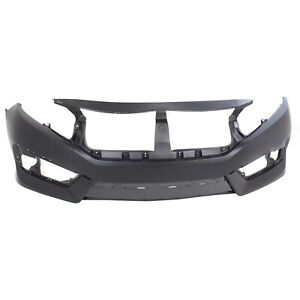 New Bumper Cover Facial Front Coupe Sedan for Civic HO1000306 04711TBAA00ZZ $123.74