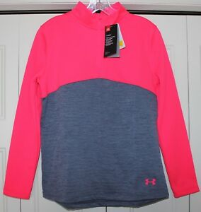 NEW Under Armour Expanse 14 Zip Pullover Girl size XL Extra Large Hoodie Fleece