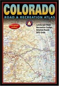 Colorado Road & Recreation Atlas  Benchmark Maps