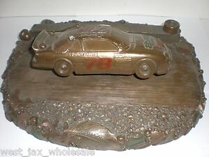GNOMECAR #78 Bronzed The Bronze Bullet Base Racing Racecar Tom Clark Wolfe Cairn