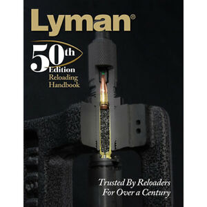 Lyman Load Data Book 50th Edition Reloading Soft Cover Md: 9816051