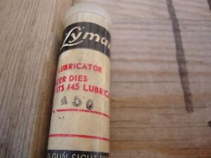 Lyman H&I Lube and Sizer Sizing  Die 450 Diameter New Old Stock Gunsmiths Estate