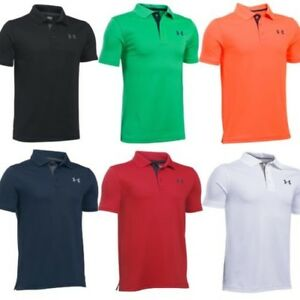 BRAND NEW Under Armour Junior Performance Golf Polo Shirt  ALL SIZES