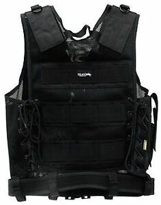 Drago Gear Gear Fast Draw Vest Tactical Black Mesh Net 51301BL Tactical Vests