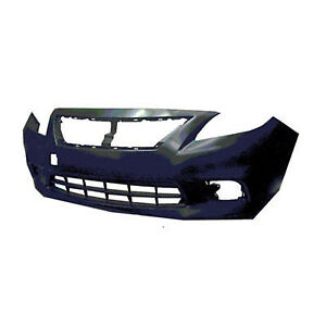Replacement Bumper Cover for 12-14 Nissan Versa (Front) NI1000284OE