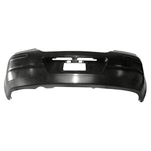 Replacement Bumper Cover for 07-12 Nissan Versa (Rear) NI1100250OE